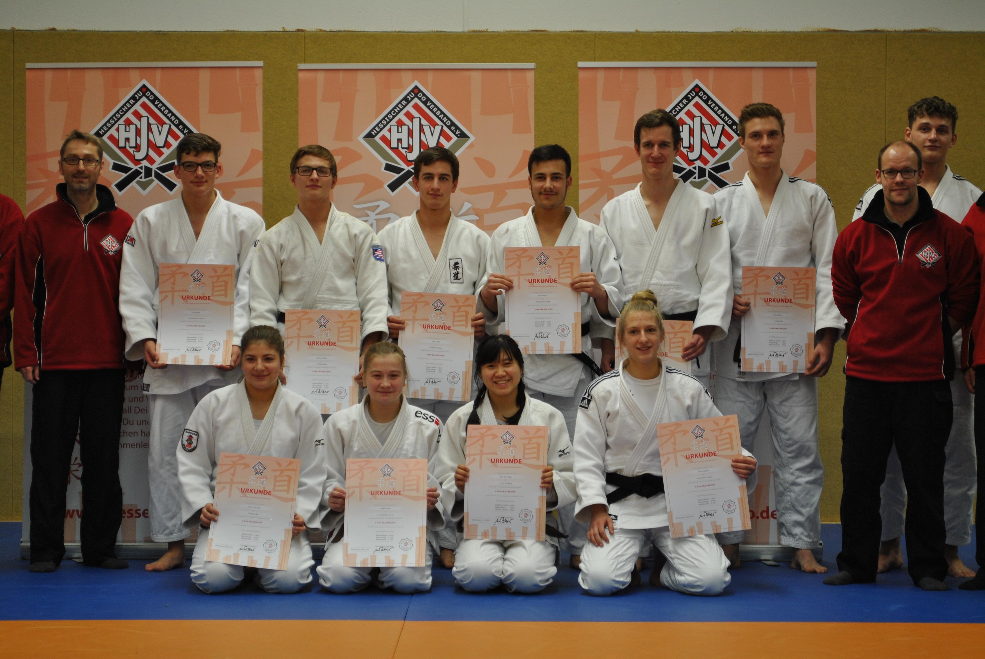 Judo DAN Prüfung 2017